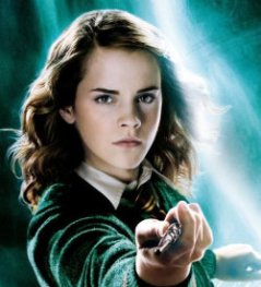 Hermoine kicks Delores